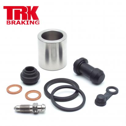 Picture of Yamaha WR 125 R 12 Brake Piston and Seal Kit Stainless Steel Rear - by TRK