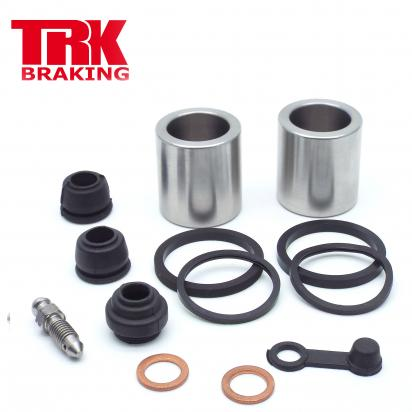 Brake Piston and Seal Kit Stainless Steel Rear - by TRK