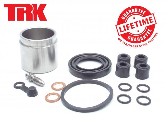 Picture of Brake Piston and Seal Kit Stainless Steel Front - by TRK