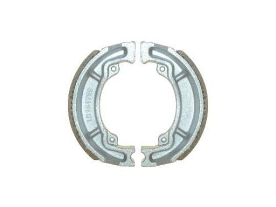 Picture of Kawasaki KE 100 B11 (US Market) 92 Brake Shoes Front Pattern