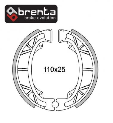Brake Shoes Front Brenta