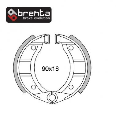 Picture of Kreidler MP1 Early Models 69-75 Brake Shoes Front Brenta