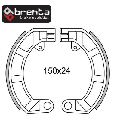 Picture of Brenta Brake Shoes FT0159