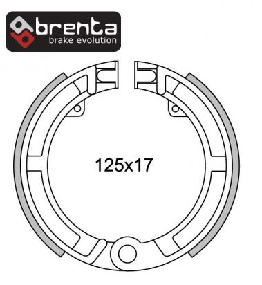 Picture of Brenta Brake Shoes FT0162