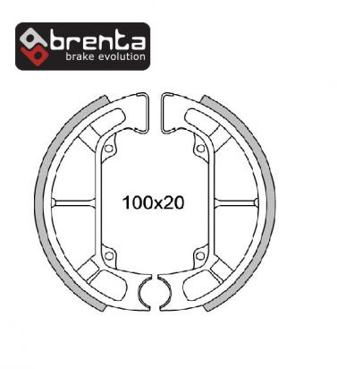Picture of Brenta Brake Shoes FT0266