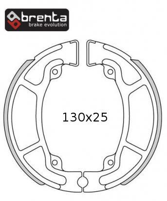 Picture of Honda NES 125 Y/1/2 00-02 Brake Shoes Rear Brenta