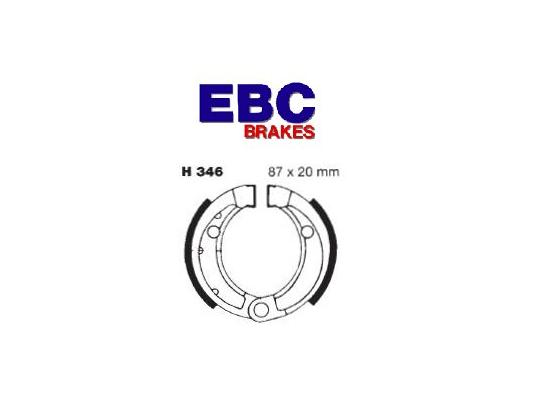 Picture of Brake Shoes EBC H346