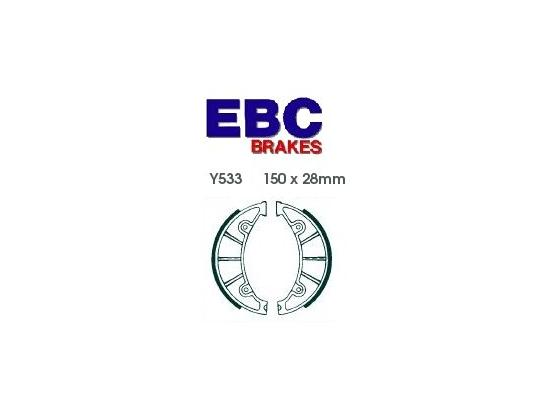 Picture of Yamaha BWs 125 13 Brake Shoes Rear EBC Standard