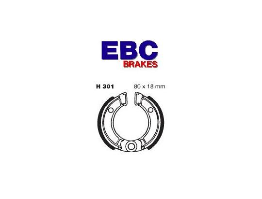Picture of Yamaha TT-R 50 E 13 Brake Shoes Rear EBC Standard