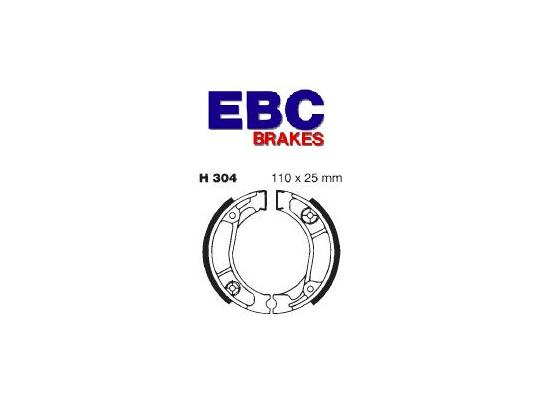 Picture of Yiben Scout 50 YB50QT-3 08 Brake Shoes Rear EBC Grooved
