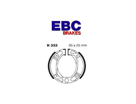 Picture of Honda SZ50 Tact 50 (Front Disc Brake) 97-98 Brake Shoes Rear EBC Standard
