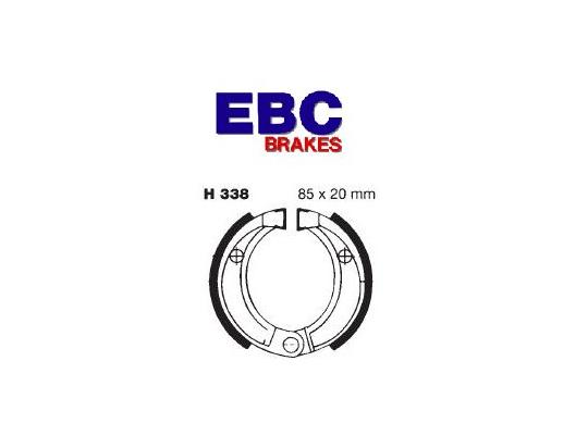 Picture of Honda SK 50 DIO (Disc Front) 97 Brake Shoes Rear EBC Grooved