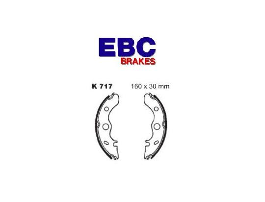 Picture of EBC Grooved Brake Shoes K717G