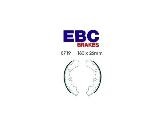 Picture of Kawasaki KAF 620 F1 (Mule 3020) 01 Brake Shoes Front EBC Standard