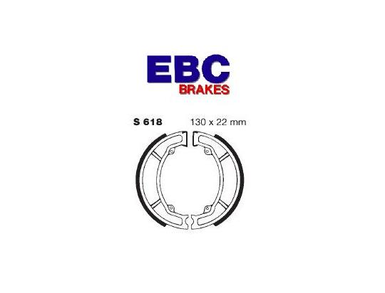 Picture of Suzuki LT-Z 90 L4 Quadsport 14 Brake Shoes Rear EBC Grooved
