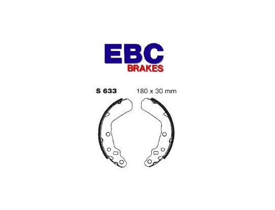 Picture of EBC Grooved Brake Shoes S633G
