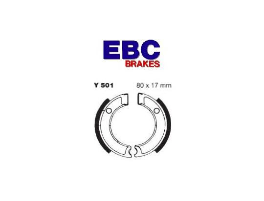 Picture of Yamaha PW 50 17 Brake Shoes Front EBC Standard