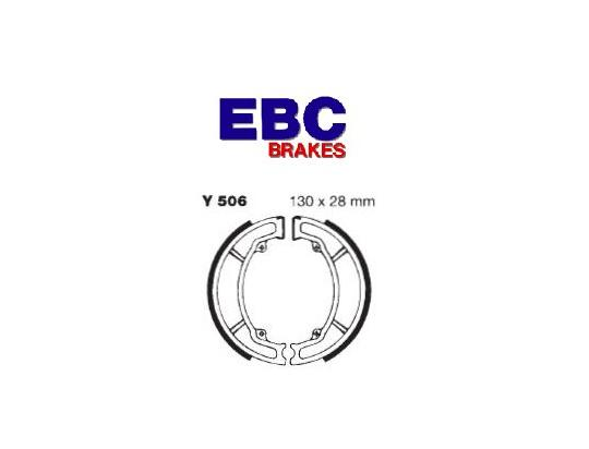 Picture of Yamaha DT 125 LC1 Type 26G 83 Brake Shoes Front EBC Standard