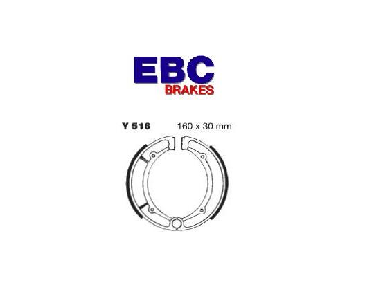 Picture of EBC Grooved Brake Shoes Y516G