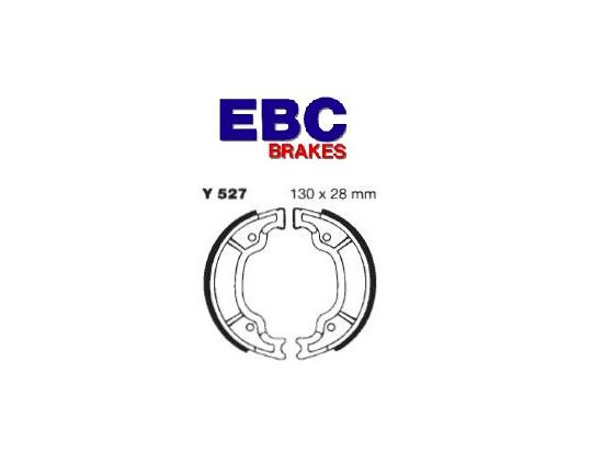 Picture of Yamaha DT 125 (3TT4) 96 Brake Shoes Front EBC Grooved
