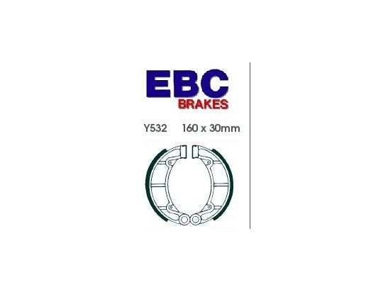 Picture of EBC Grooved Brake Shoes Y532G
