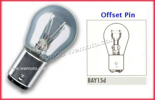 Picture of Stop/Tail Bulb 12V 18/5W BAY15D