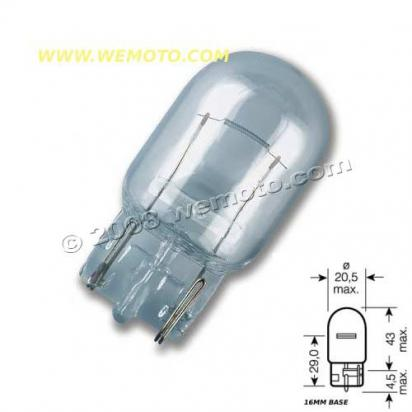 Picture of Indicator Bulb Capless 16mm Fitting 12V 21W