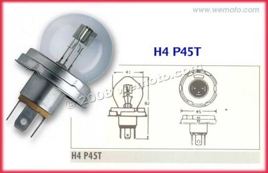 Picture of Yamaha DT 125 R 99-00 Bulb Headlight