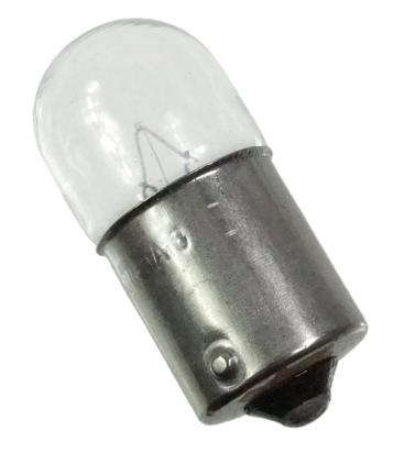 Picture of Indicator Bulb BA15S 12V 10W Clear