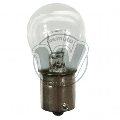 Picture of Indicator Bulb BA15S 12V 21W Clear