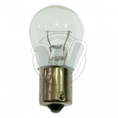 Picture of Indicator Bulb BA15 12V 18W Clear