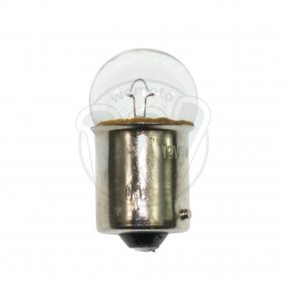 Picture of Indicator Bulb BA15S 12V 5W Clear