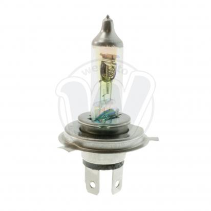 Picture of Headlight Bulb Halogen P43T 12v 100/80W Power White - Not UK Road Use