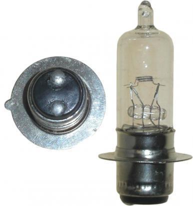 Picture of Headlight Bulb P15D MPF 6V 15/15W Halogen