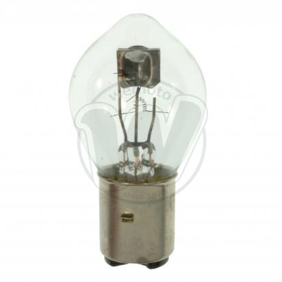 Picture of Headlight Bulb BA20D Bosch Fitting 6v 35/35W