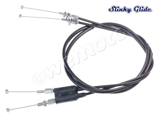 Throttle Cables Set A+B (Push And Pull) by Slinky Glide