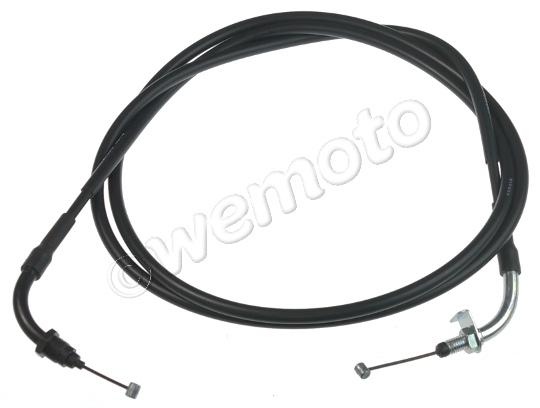 Picture of Honda SH 300i Sporty 08 Throttle Cable B (Push) Genuine Manufacturer Part (OEM)