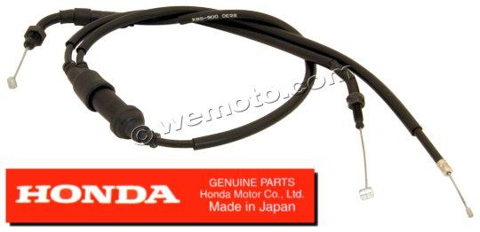 Picture of Honda NSR 125 RV/RW/RX/RY 97-00 Throttle Cable A (Pull) Genuine Manufacturer Part (OEM)