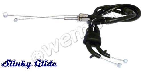 Picture of Yamaha TRX 850 96 Throttle Cables Set A+B (Push And Pull) - Slinky Glide