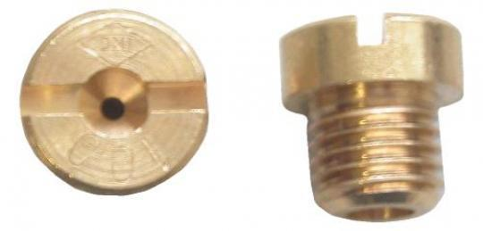 Picture of Dell Orto Brass Jets 6mm Thread 8mm Head - 125