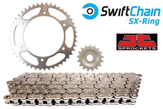 Picture of Swift Heavy Duty Bright Steel SX-Ring Chain and JT Sprocket Kit