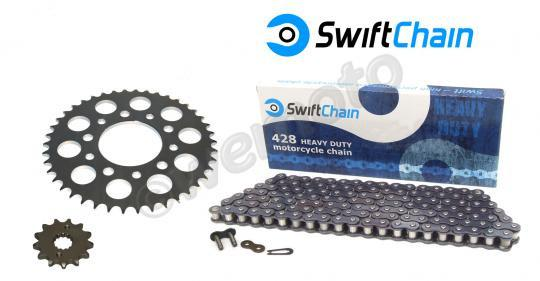 Picture of Swift Super Heavy Duty Chain and Pattern Sprocket Kit