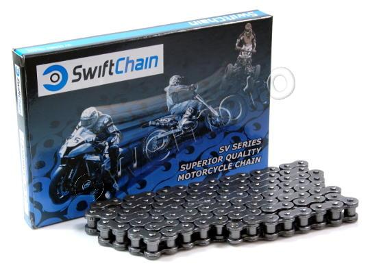Chain 525x122 Swift Heavy Duty Supplied With Spring Link Only Recommended Upto 250CC Only