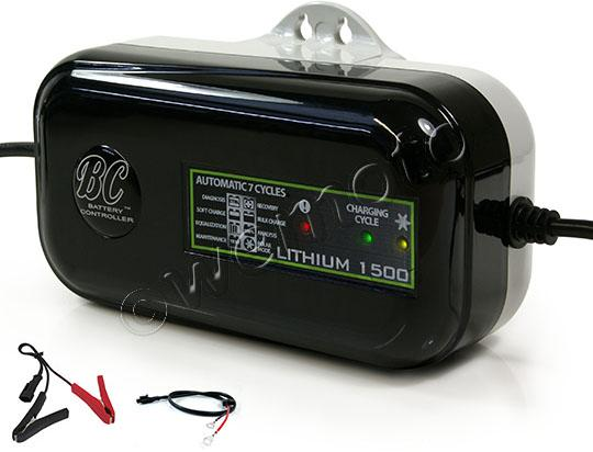 Picture of 12 v Lithium Battery Charger 1500 D Series By BC - EU plug