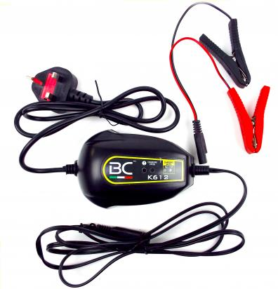 Battery Charger BC K612 - 6 And 12 Volt