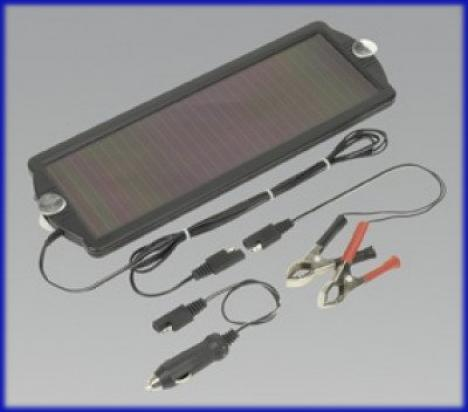 Picture of Battery Charger - Sealey SPP01 Solar Power Panel 12V/1.5W