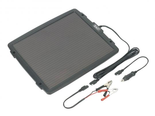 Picture of Battery Charger - Sealey SPP03 Solar Power Panel 12V/4.8W