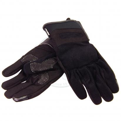 S-Line Summer Gloves With Protective Palm And Knuckles - Touch Screen Friendly - Small - Black