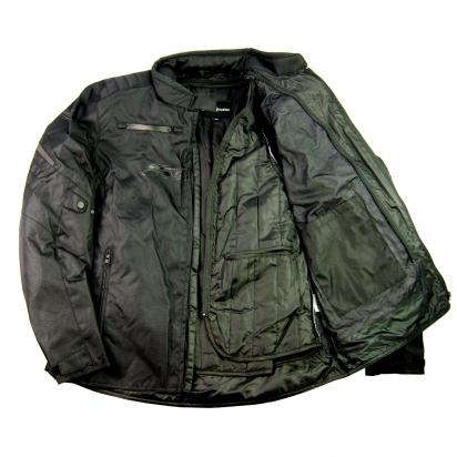 Picture of S-Line All Season Textile Jacket With Elbows, Shoulders And Upper Back Protectors - X Large - Black