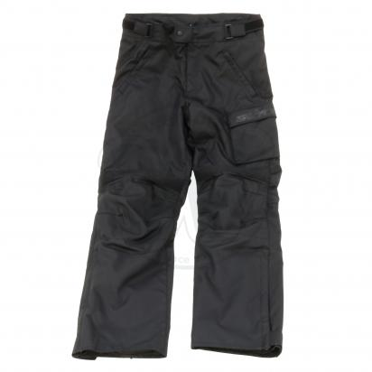 S-Line All Season Textile Trousers With Knee Protection - 2X Large - Black